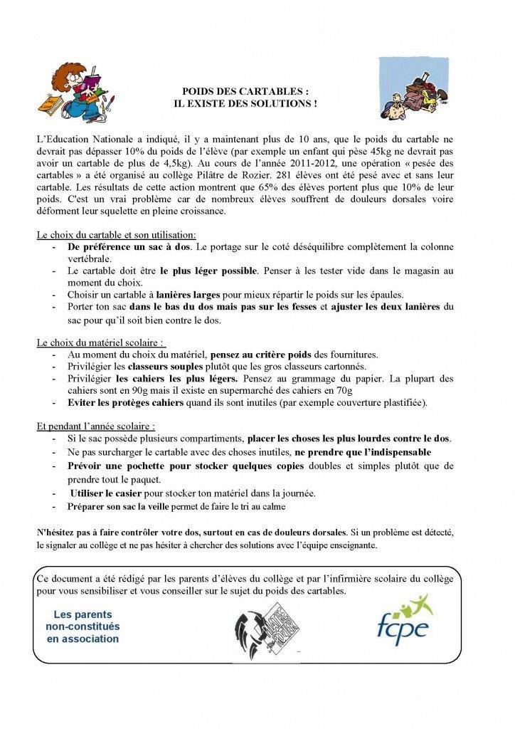 Action poids des cartables - suite dans compte-rendus TRACTPOIDSMATERIEL1-724x1024